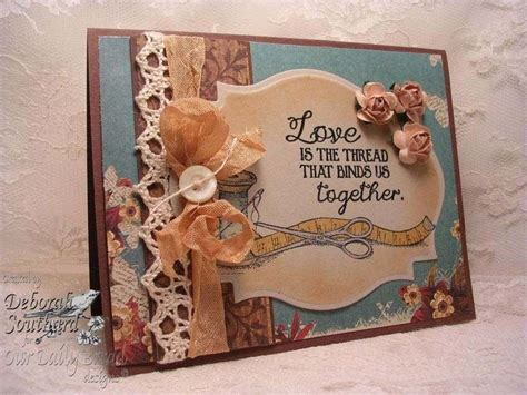 pin  pat janssen  sewing card craft paper crafts