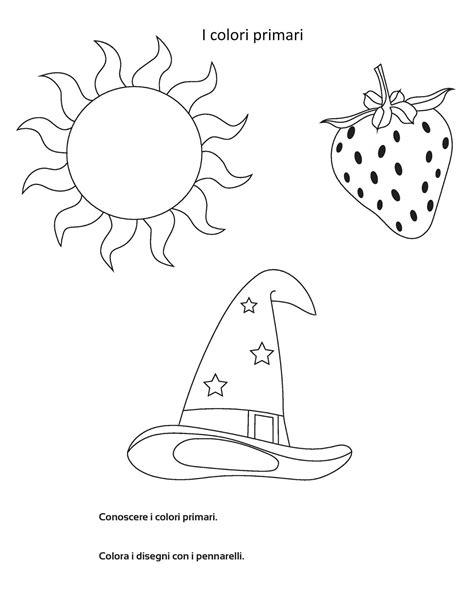 disegni da colorare con colori primari e secondari colori primari colori color stare