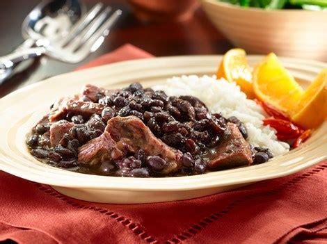 feijoada brazilian meat  bean stew recipes goya foods