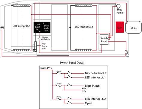 Alumacraft Wiring Schematic by Jon Boats Jon Boat Electrical Wiring