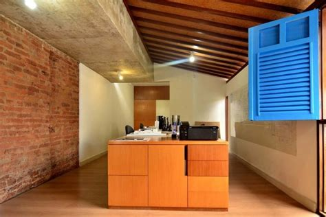 photo arri鑽e plan bureau interior de casas de madeira quotes