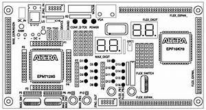 Altera Up2 Expansion Board  Aeb