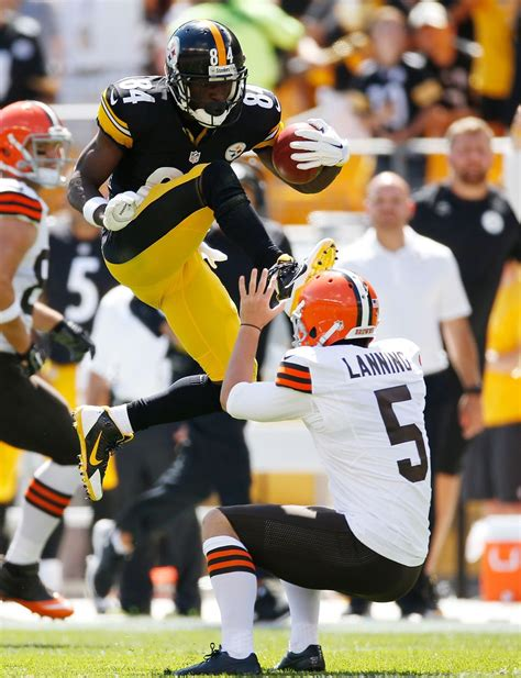 Antonio Brown's Head Kick Gets the Karate Kid Remix It ...