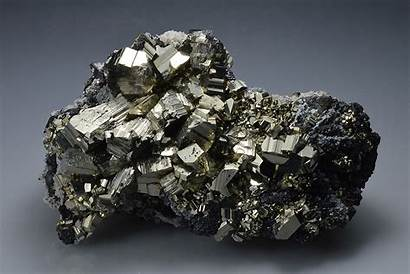 Sphalerite Pyrite Quartz Minerals Polished 2tt