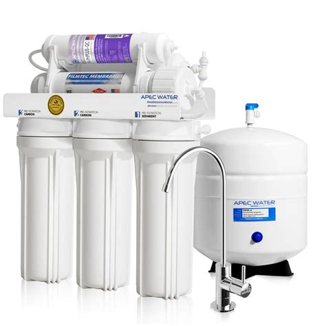 best under sink reverse osmosis system apec water systems ultimate premium quality 90 gpd ph