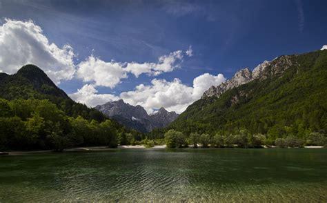 mountain, Trees, Water, Landscape Wallpapers HD / Desktop ...