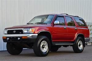 1994 Toyota 4runner Sr5 4x4 Manual 5 Speed Hilux Surf