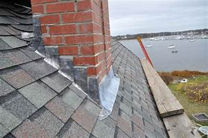 Ri Roofing Contractor Repairs Roof Leaks Due To Chimney