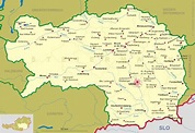 Around the World Maps: Styria Map
