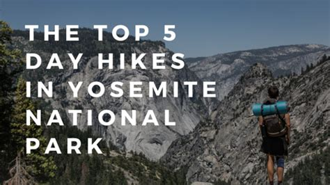 The Top Day Hikes Yosemite National Park Red Tail
