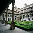 The 4 cloisters of Parador de Santiago de Compostela
