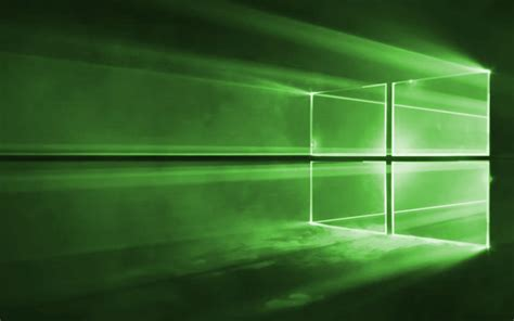 Windows 1.0 Wallpaper 1920X1080 Green