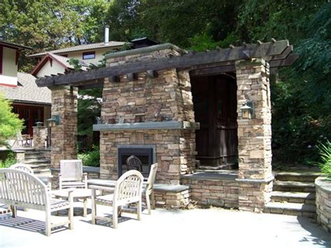 Custom Masonry Outdoor Fireplaces  Landscaping Network