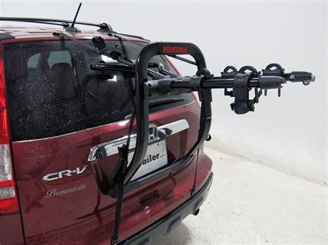 bike rack honda crv 2009 honda cr v yakima fullback 2 bike rack trunk mount