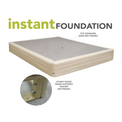 what is a mattress foundation classic brands instant foundation high profile 8in box