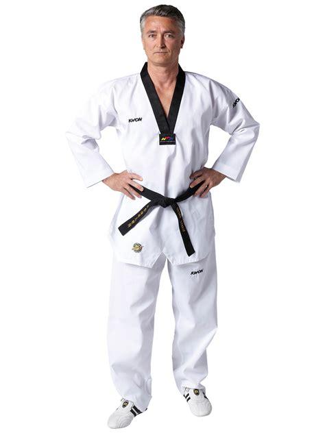 victory taekwondo uniform black lapel wtf rec victory