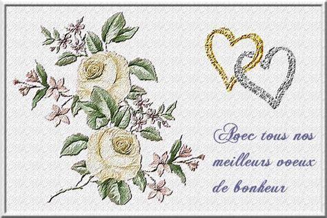 carte de voeux pour mariage à imprimer carte mariage des cartes des voeux pour mariage et des