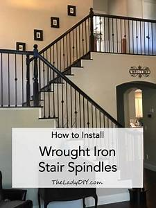 How To Install Wrought Iron Spindles