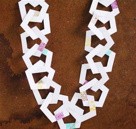 paper pentagon printable garland allfreechristmascraftscom