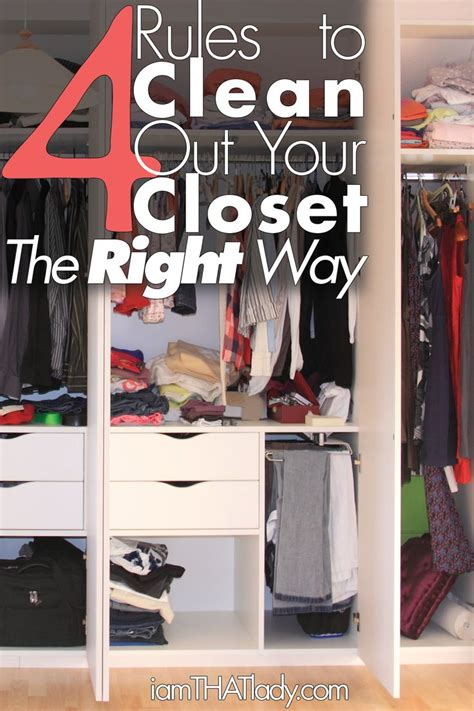 Clean The Closet by 4 To Clean Out Your Closet The Right Way Cleanses