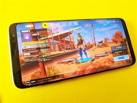 heres  supported devices  playing fortnite mobile