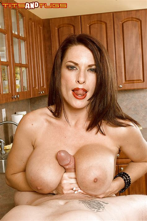 Busty European Milf Goldie Blair Giving Bj And Titty Fuck