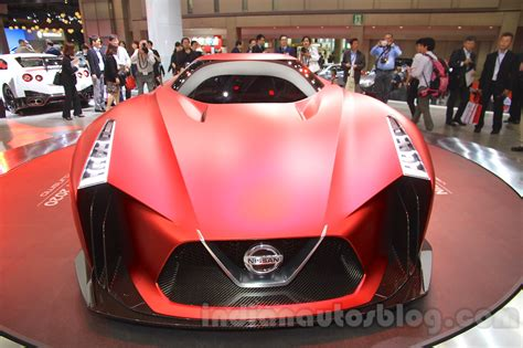 tesla 2020 vision nissan concept 2020 vision gran turismo front at the 2015