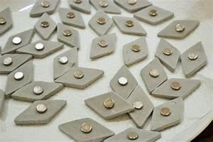 Basteln Mit Knetbeton : diy beton magnet einfach aus knetbeton selber machen ~ Lizthompson.info Haus und Dekorationen
