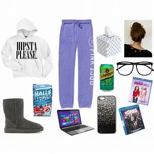 U0026quot;Sick Day Outfitu0026quot; by kaylaaareaserrr on Polyvore | looking good | Pinterest | Lazy days Girls ...