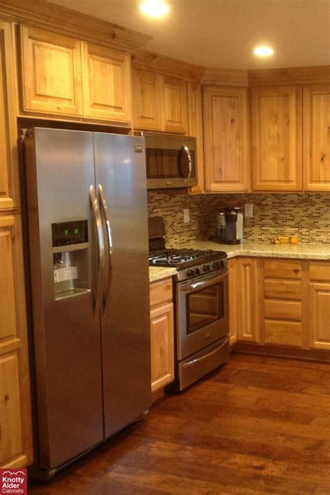 natural rustic alder cabinets natural knotty alder kitchen cabinets backsplash mission