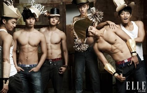 hot korean boy band apparently this is a korean boy band called 2pm from