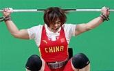 女子举重69公斤级:向艳梅夺冠