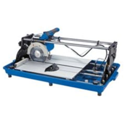 mastercraft 10a sliding wet tile saw 7 in canadian tire