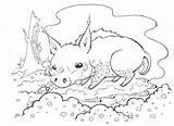 Tsunami Wan Comics Illustrations sketch template