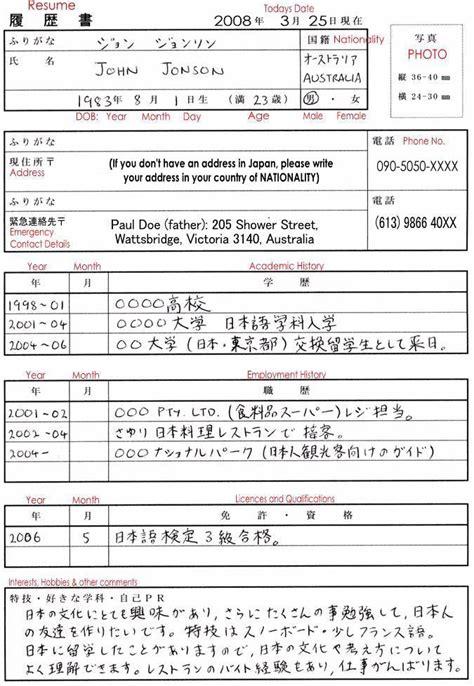 resume for japanese translator awesomethesis x fc2