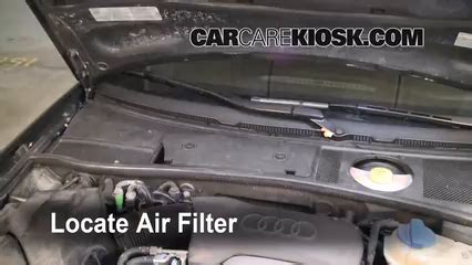 Cabin Filter Replacement Audi