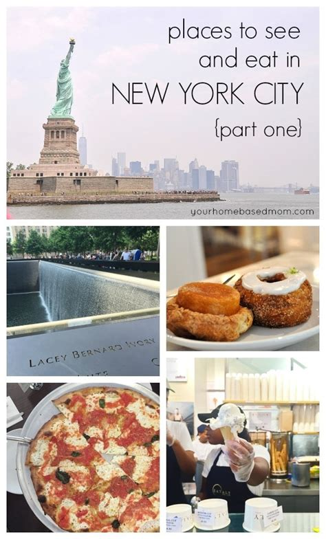Places To See And Eat In New York City}part One  Your Homebased Mom