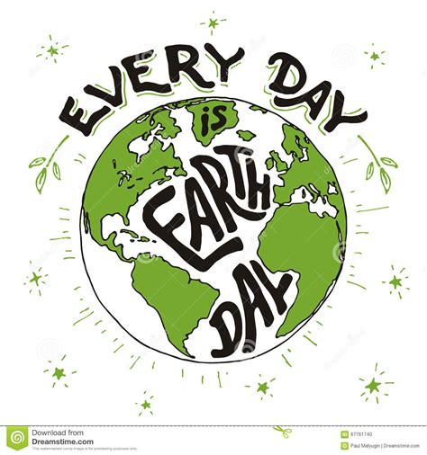 day  earth day holiday card stock vector image