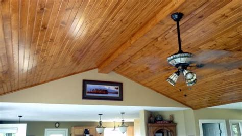 Tongue And Groove Beadboard Planks : Bead Board On Plaster Ceilings?