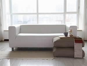 Ikea Sofa Klippan : leather slipcover for ikea klippan sofa ~ Jslefanu.com Haus und Dekorationen
