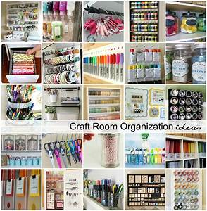 Craft, Room, Organization, And, Storage, Ideas