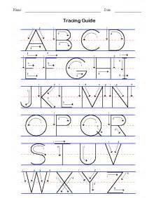 Alphabet Writing Practice Worksheet