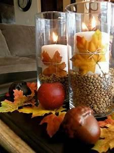 Deko Ideen Kerzen Im Glas : herbstliche dekoration oder den herbst zu gast einladen ~ Bigdaddyawards.com Haus und Dekorationen