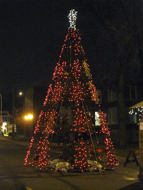 28 best how to make outdoor christmas tree 10 simple