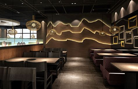 beautiful restaurant interior design including high end