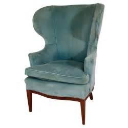 mid century edward wormley for dunbar wingback chair at