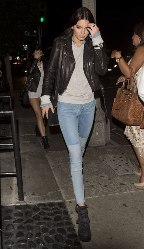 kendall jenner night  style stk restaurant  west