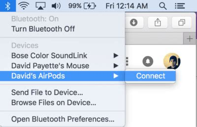 how to fix airpods won t connect to mac