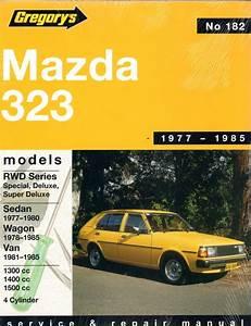 Mazda 323 Rear Wheel Drive 1977 1985 Gregorys Service
