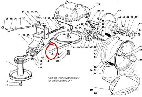 castel garden mountfield gearbox drive belt tc tcp tcp tc manual ebay